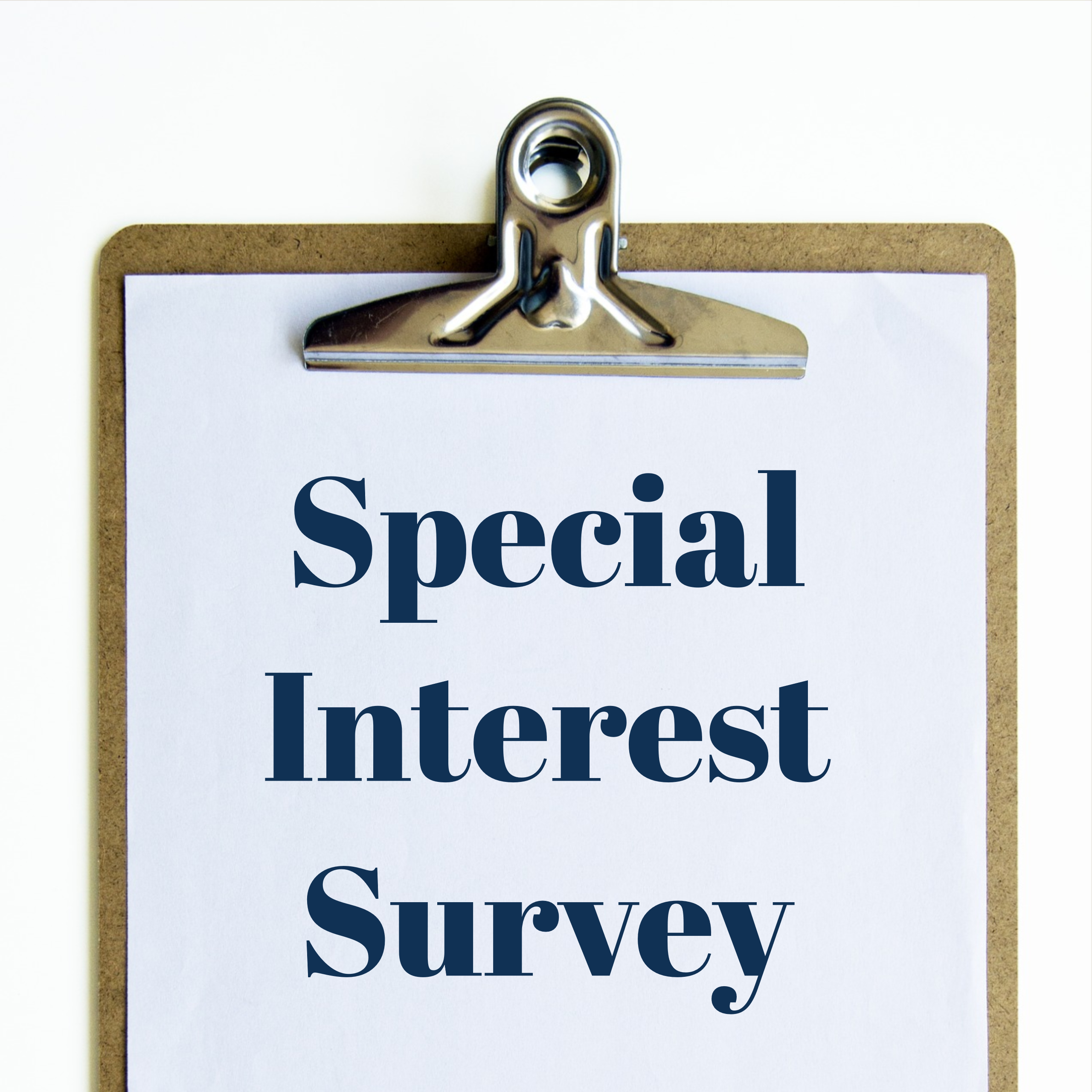 Special Interest Survey