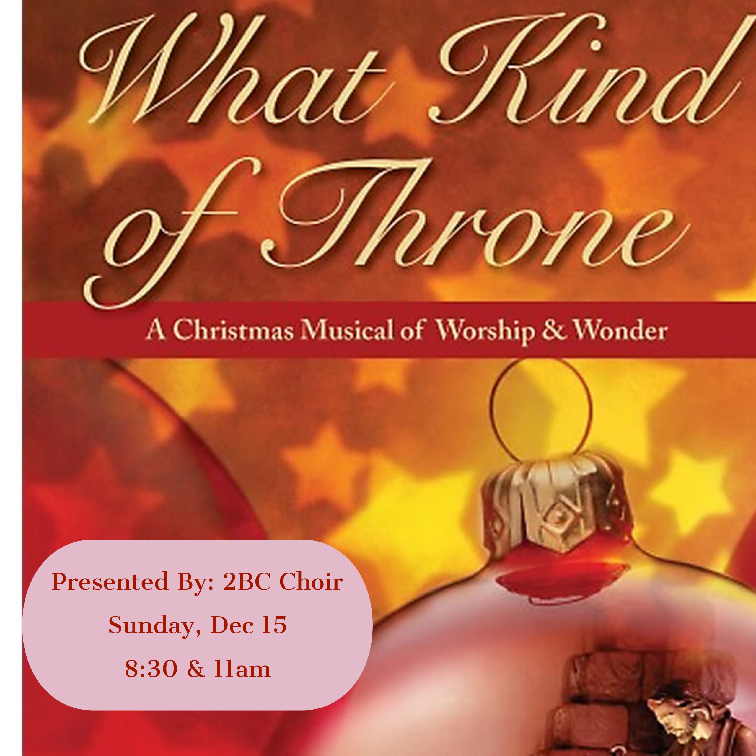 2BC Choir Christmas Program